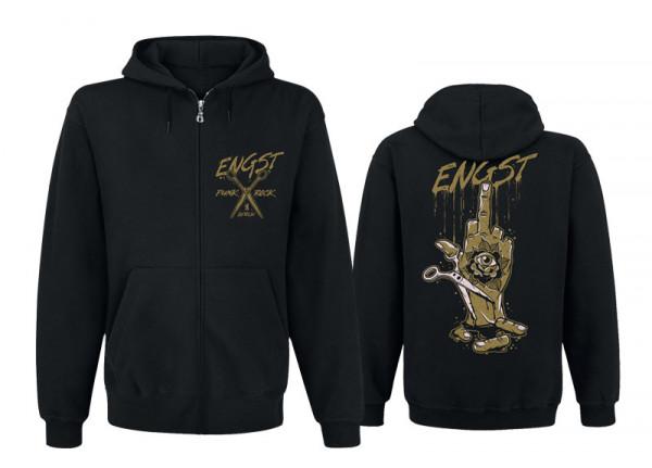 ENGST - Knochenfinger Zipper