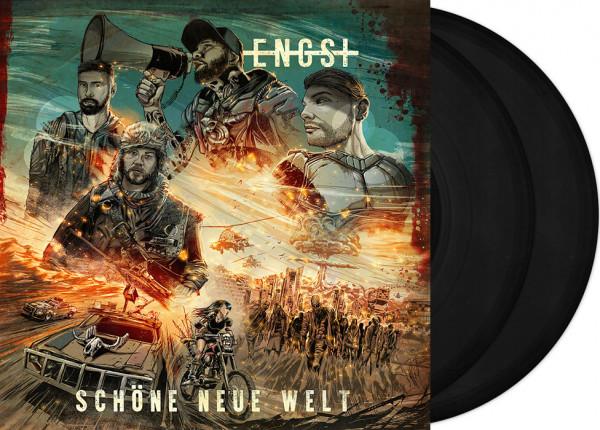 """ENGST - Schöne neue Welt 12"""" DO-LP - BLACK"""